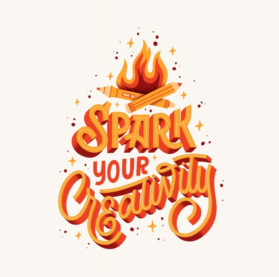 lettering spark your creativity