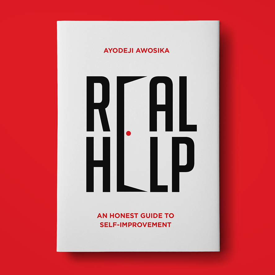 Typography based book cover design