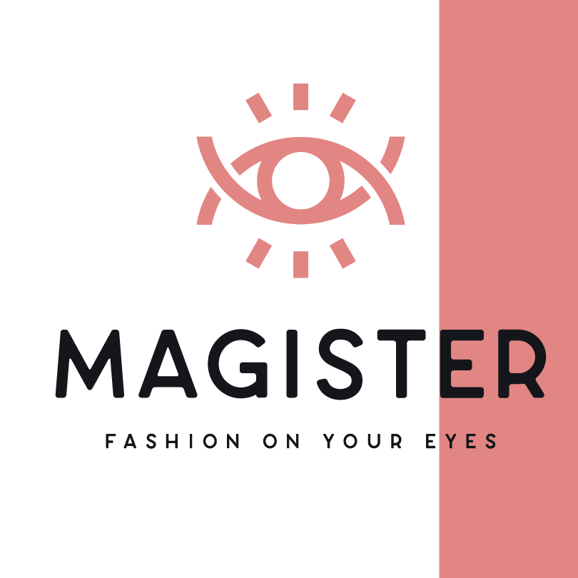 logo design trends example: All-seeing eye symbol minimalist logo design