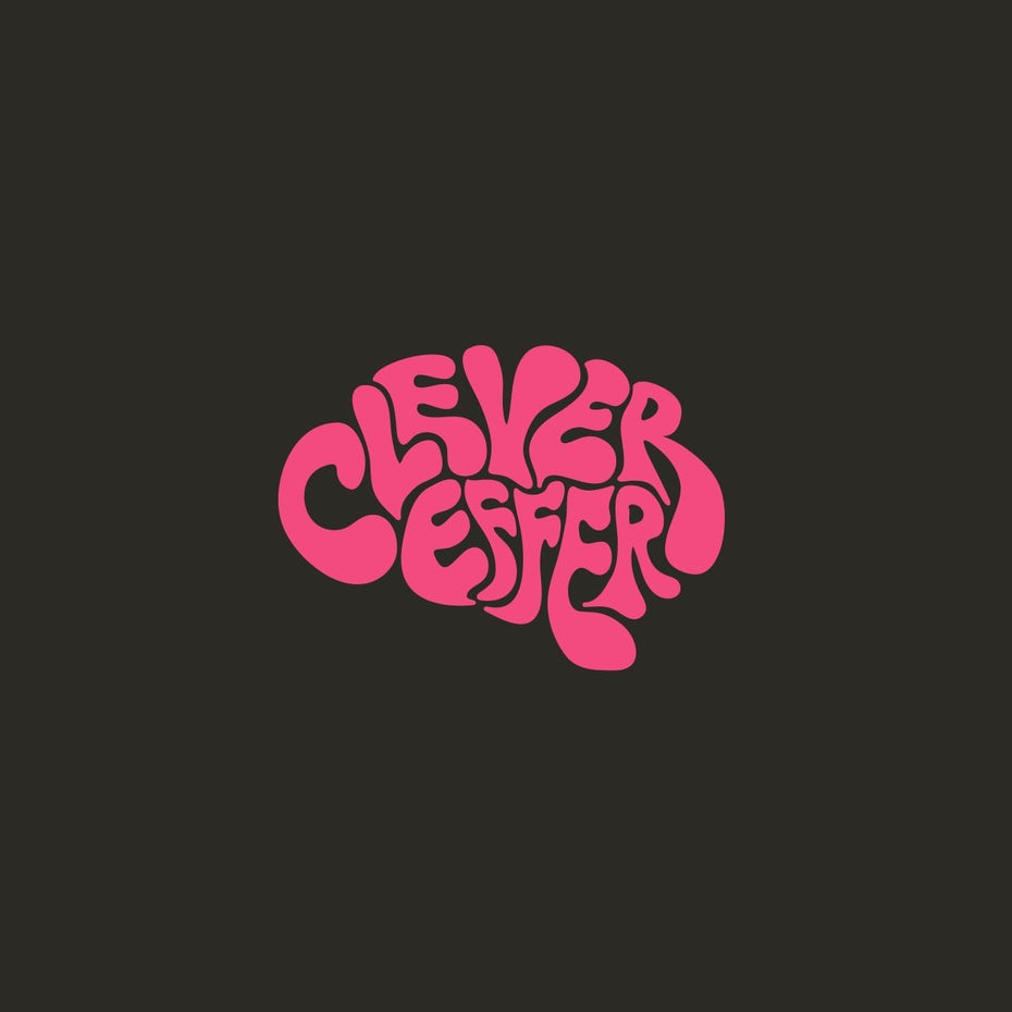 70s style pink hand-lettering