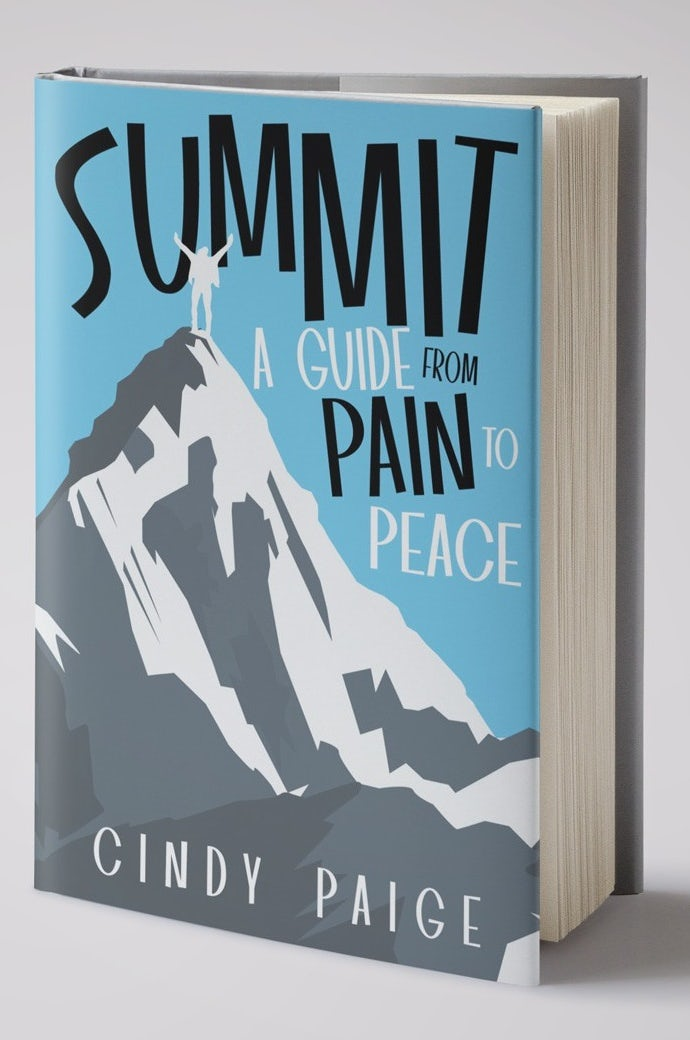 Hand-lettered book cover design with uneven typography