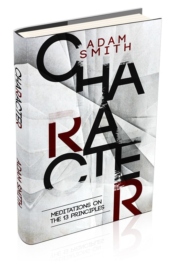 white book cover with red and black text