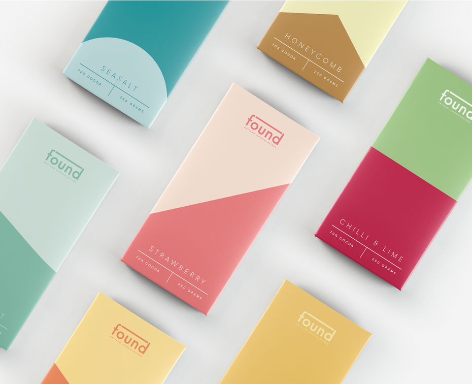 branding trends 2021 example of using expressionist colors