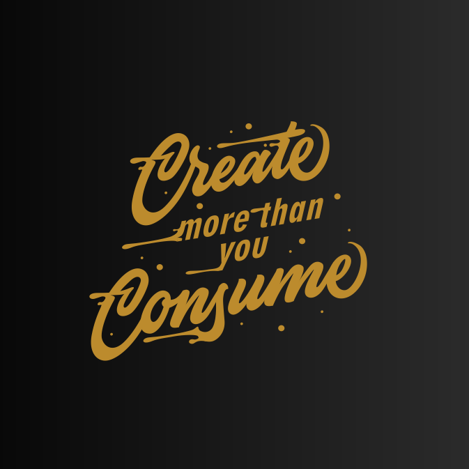 Dynamic hand-lettering with movement lines for t-shirt design