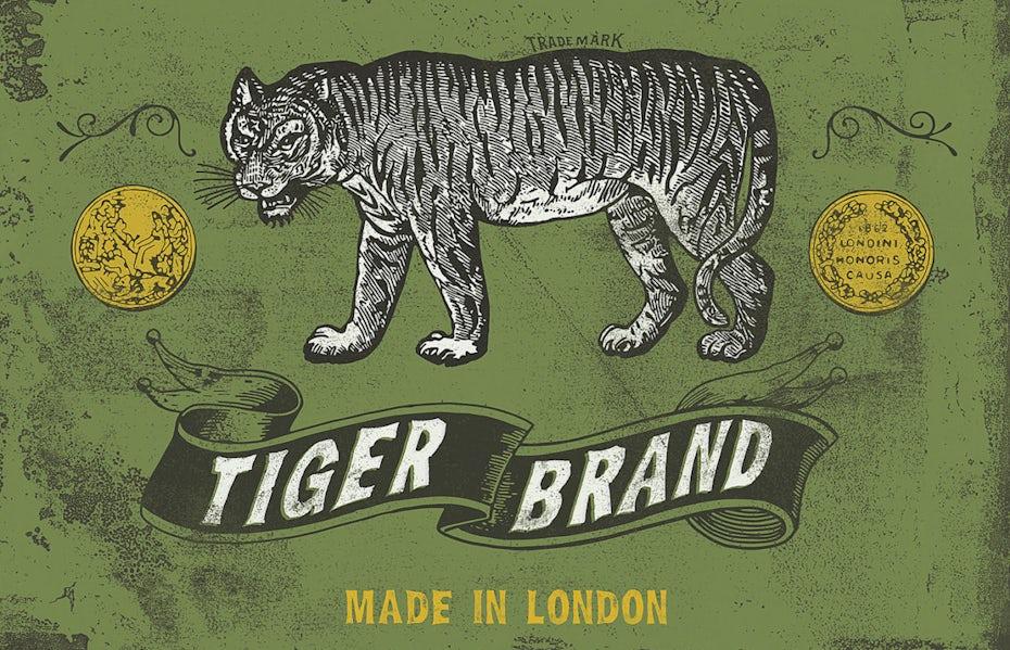 logo mit Tiger