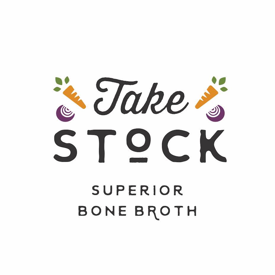 logo design trends example: Hand-lettering logo design for organic food brand