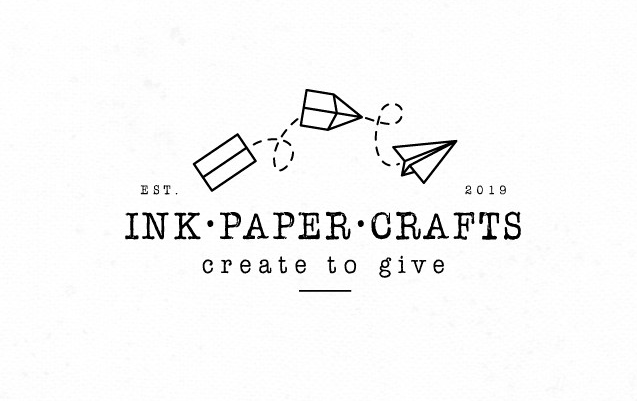Logo design with typewriter font