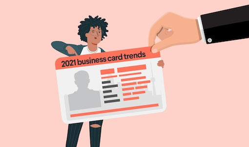 8 amazing business card trends for 2021