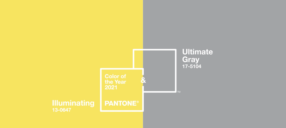 Pantone color swatch 2021