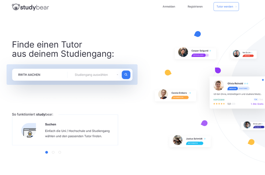 Student collaboration app UX design
