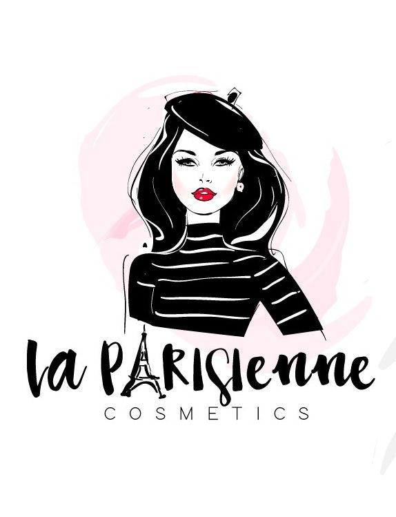 illustration logo of a woman in a beret