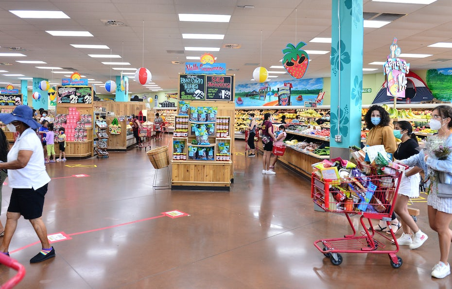 interior shot of a Trader Joe's store