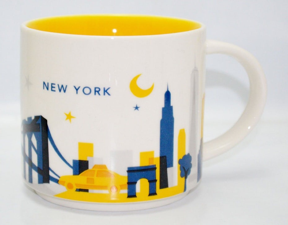 Starbucks' geographic and culturally branded NYC merchandise