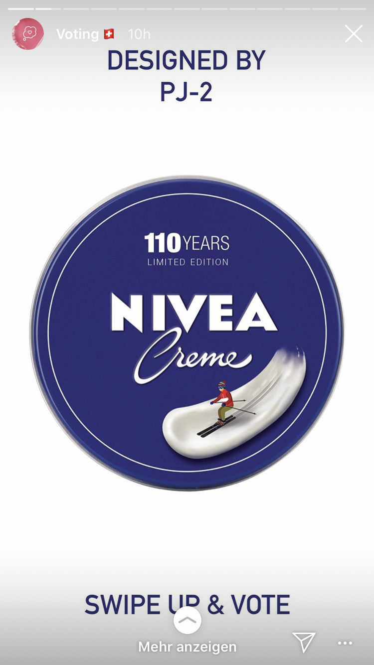 nivea story voting process