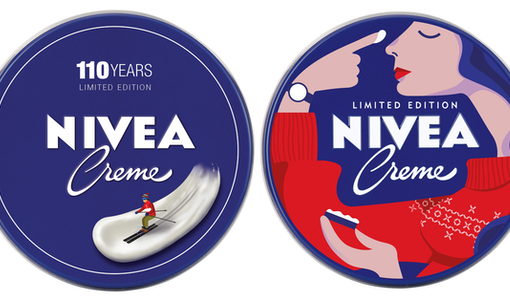 The illuminating stories behind NIVEA Switzerland's 110th anniversary tin designs