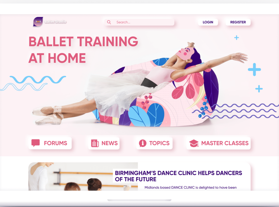 Website for ballet lovers