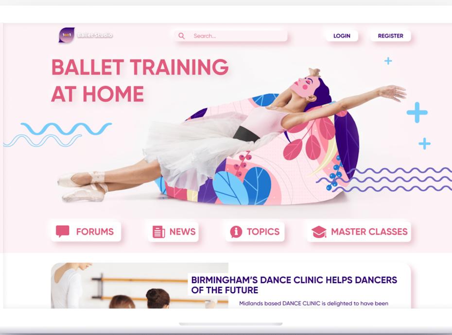 Website for ballet lovers