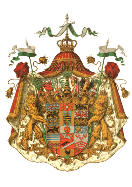German medieval coat of arms