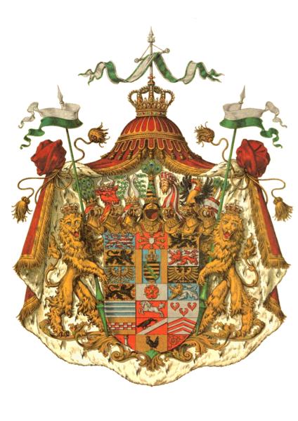 Deutsches mittelalterliches Wappen