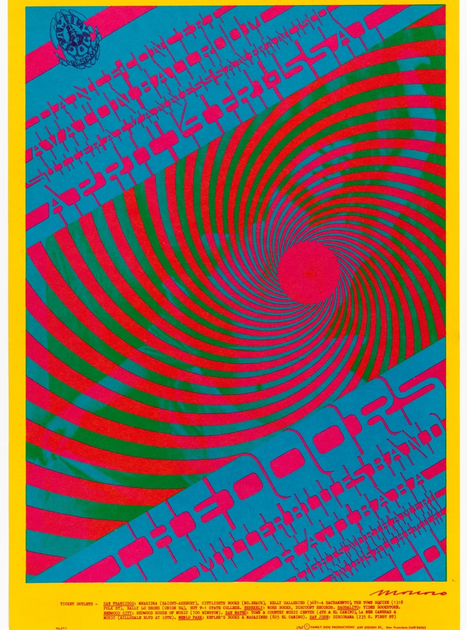 Victor Moscoso poster