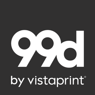 99designs by Vistaprint logo