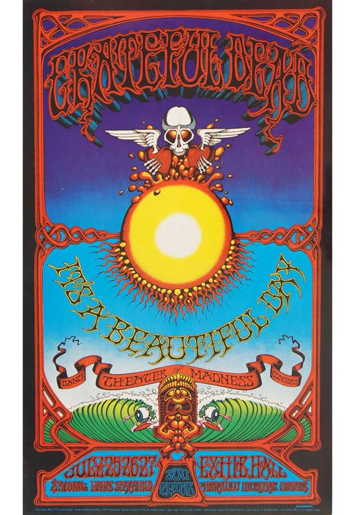 Rick Griffin psychedelic art poster