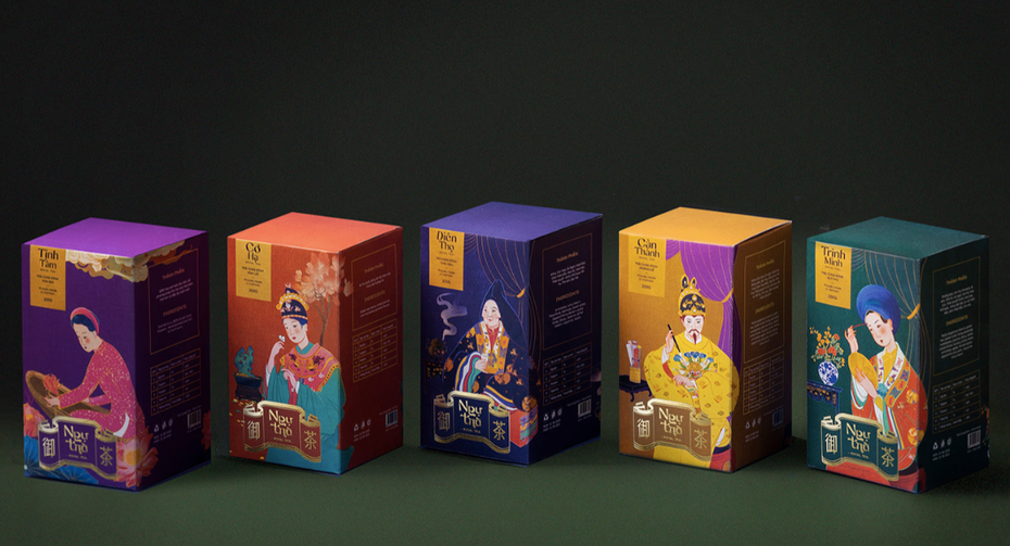 bright alternate tea packaging
