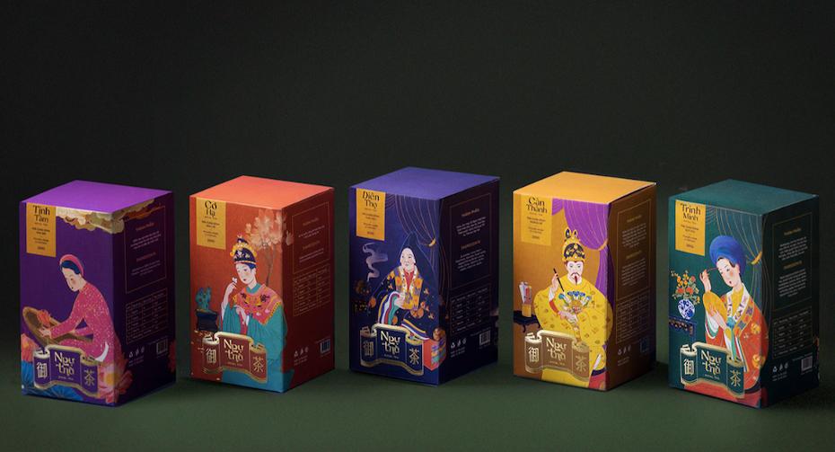 bright alternate tea packaging