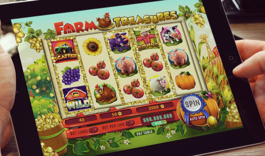farm themed gaming app