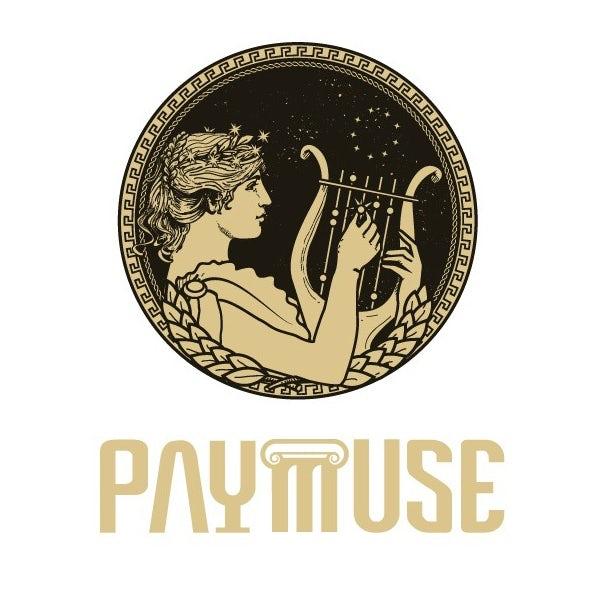 Logo design featuring greek muse goddess