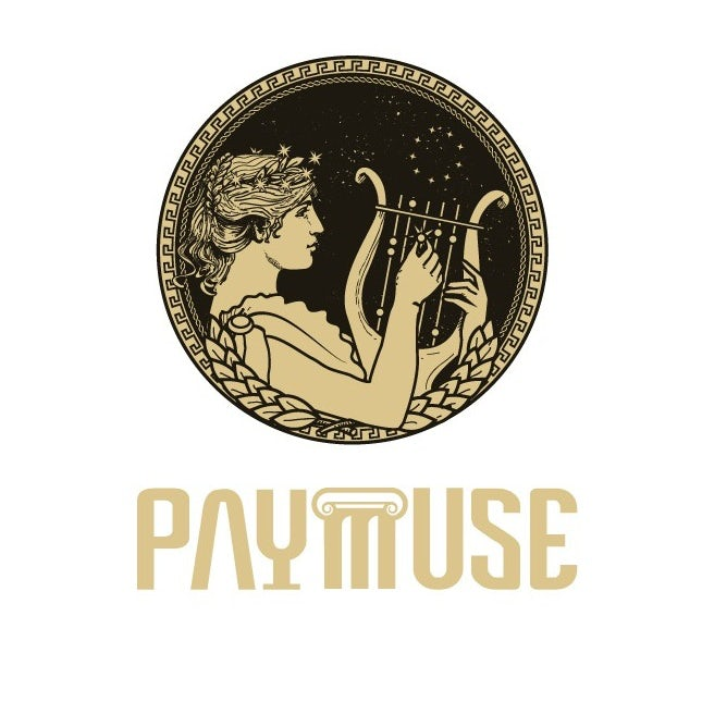 Logo design featuring greek muse goddess