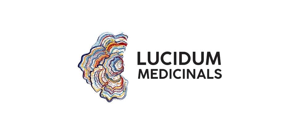 medicinal mushroom & psilocybin design trends example: Lucidum Medicinals
