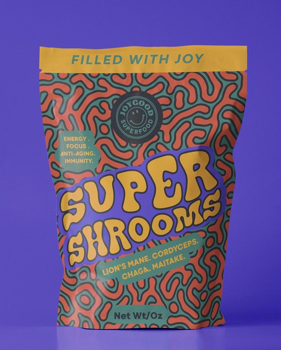 Superfood packaging design