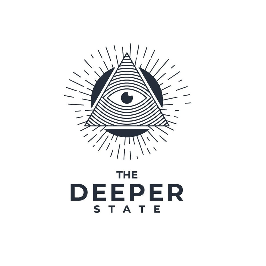 Logo design with the Eye of Providence inside of a triangle