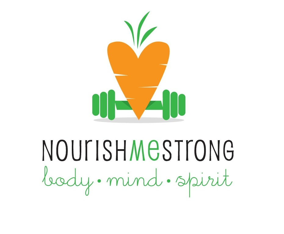 healthy lifestyle logo illustration