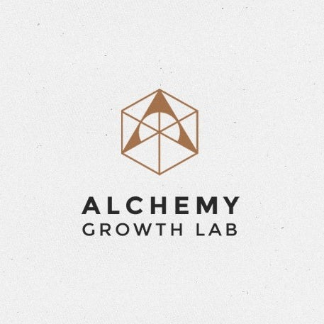 Sacred geometry cube design for business strategy brand