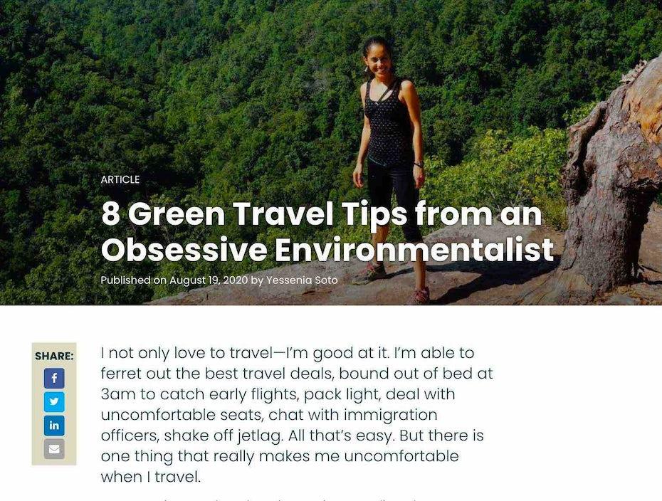 Rainforest Alliance nachhaltiger tourismus