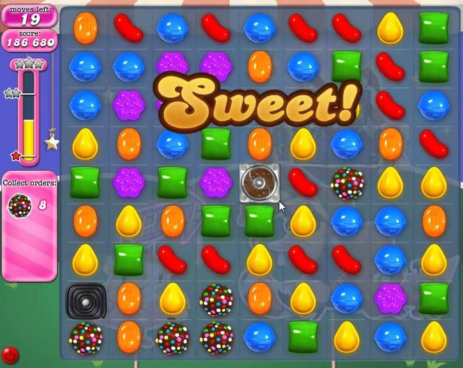 糖果粉碎游戏玩法