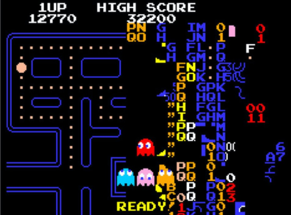 Pac Man raster graphics