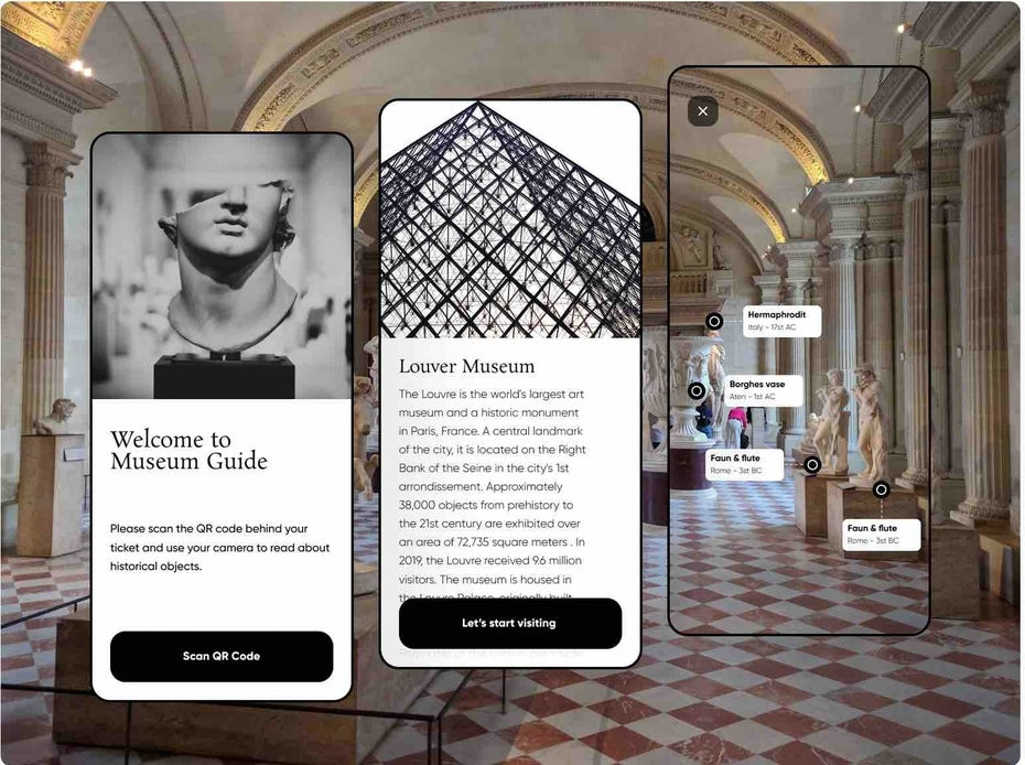 AR museum guide