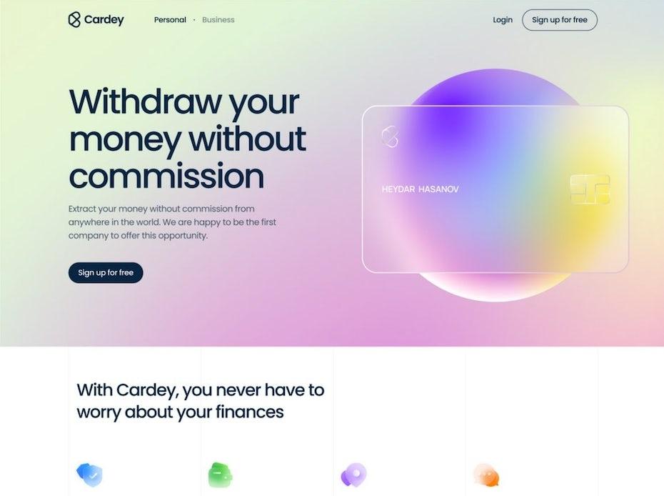Banking Web Design
