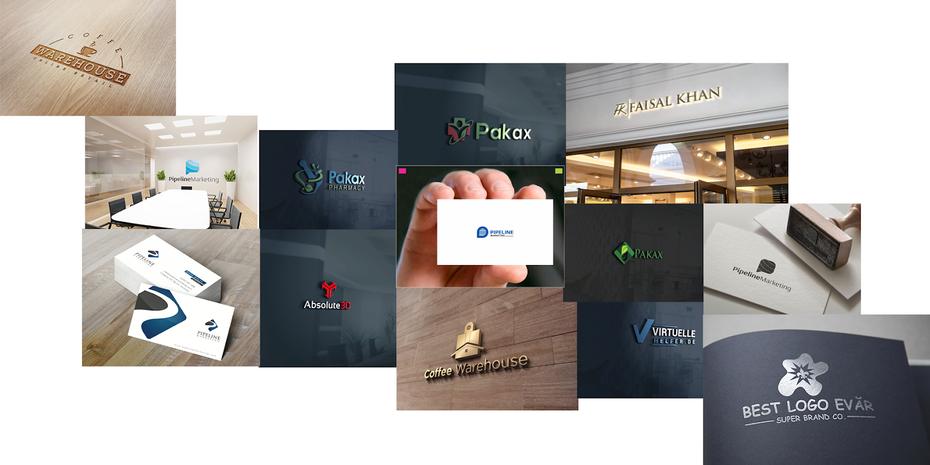 Erstellung von generischen Corporate Design Mockups