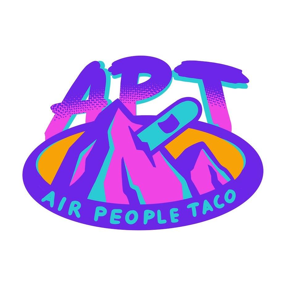 Simplistic, vector logo