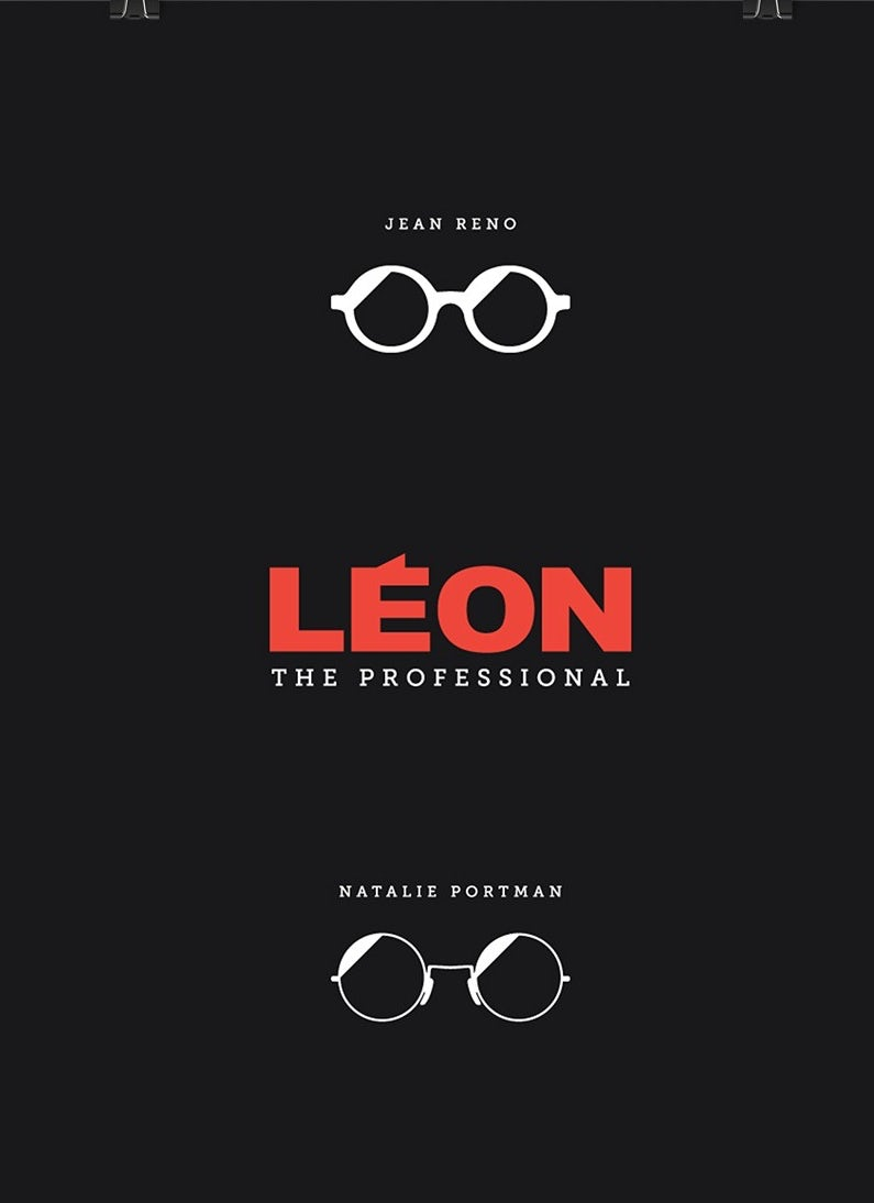 Minimalist poster design for a movie