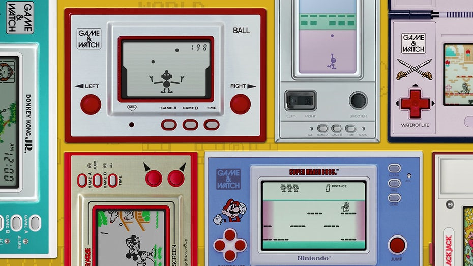 "Nintendo's ""Game and Watch"" games"