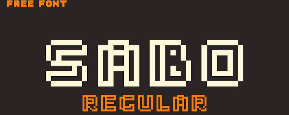 Sabo font