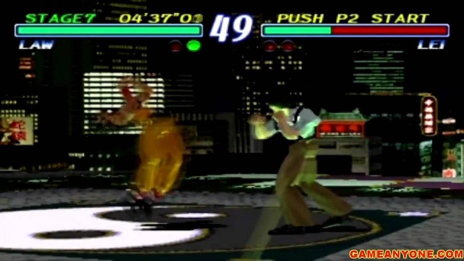 Tekken GamePlay.