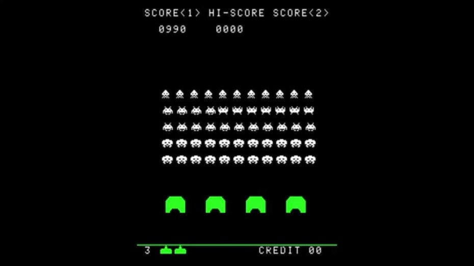 Space Invaders gameplay earliest edition