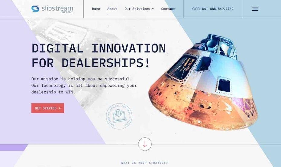 Slipstream retro website