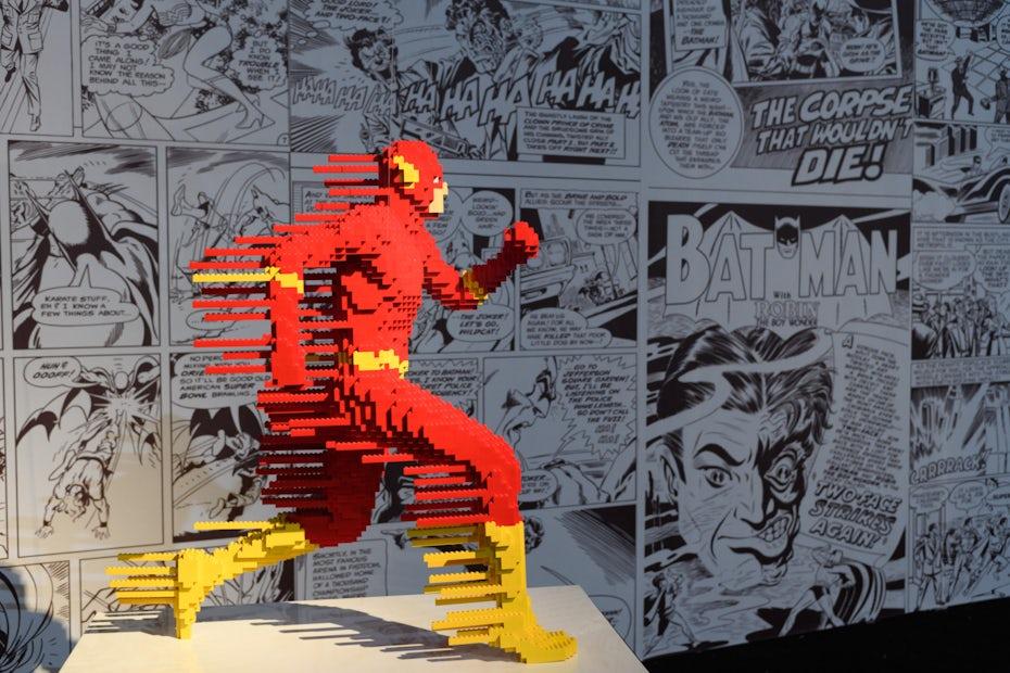 "Lego's ""Art of the Brick"" installation"